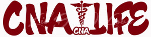 CNA Life with CNA CERTIFIED NURSING ASSISTANT Vinyl Decal Sticker ...