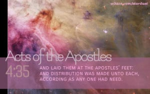 Bible verses from Acts of the Apostles
