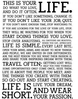 WOW.....new outlook on life:) LOVE IT!
