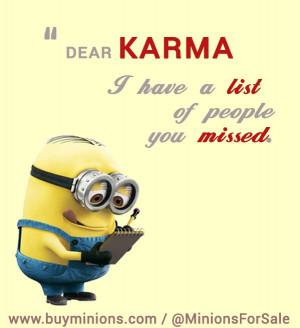 Dear Karma… #karma #funny