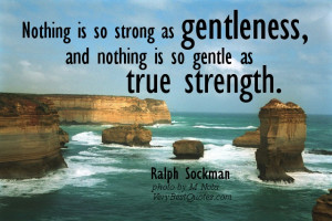 True strength quotes – picture quote of the day