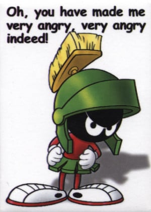 Marvinthe Martian is a cartoon character from the Looney Tunes.