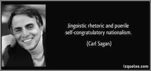 Jingoistic rhetoric and puerile self-congratulatory nationalism ...