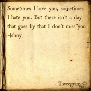sad #hate #missing you #love quotes #real talk