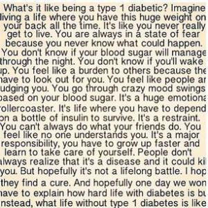 Type Diabetes Quotes Image
