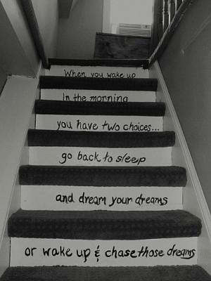 dream hope Positive success