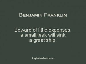 Benjamin-Franklin-Financial-Quotes