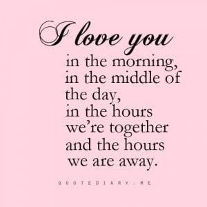 ... away, fade, i love you, love, love, never, pink, quote, quotes, swee