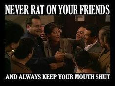snitches get stitches more fav movie quotes mobster shit mob genre ...