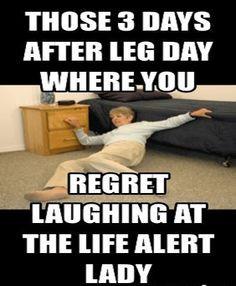 Leg Day Meme #Lady , #Life More