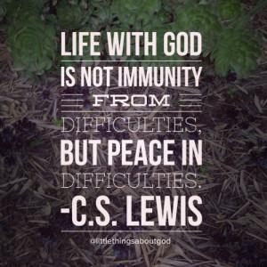 ... god #bible #love #pray #grace #faith #qotd #potd #quotes #cslewis