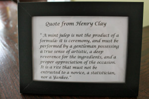 Kentucky Derby Famous Quotes