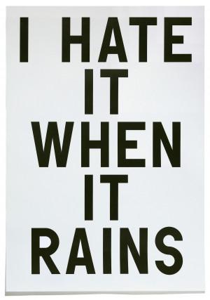 index new boymans i hate it when it rains 25 % 50 % 100 %