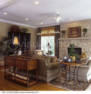 sitting area and stone fireplace beige tones limestone fireplace ...