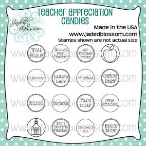 Candy Quotes For Teacher Appreciation ~ Teacher Appreciation Candy ...