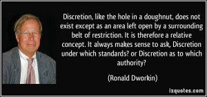 Ronald Dworkin Quote