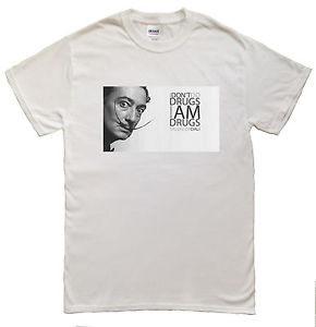Salvador-Dali-Quotes-I-Dont-do-Drugs-Im-Drugs-Mens-T-shirt