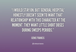 General Hospital Quotes