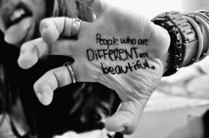 so don't be afraid, let your true colors shine.♥