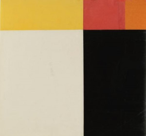 ... Panels: Orange, Dark Gray, Green - Ellsworth Kelly - WikiPaintings.org
