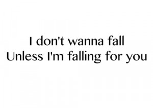 Falling for You Quotes for Him