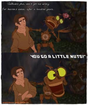 ... Treasure Planet, 2002, USA, Walt Disney Animation Studios