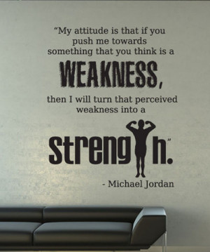 ... Our Designs » Vinyl Wall Decal Sticker Michael Jordan Quote #OS_DC525