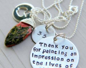 Retirement Gift, Artist Gift, Gift For Your Teacher, Retirement Gift ...