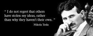 nikola tesla, quotes, sayings, ideas, creativity