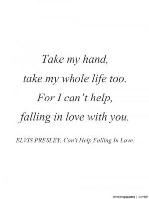 elvis love quotes