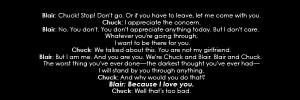 Blair & Chuck CHUCK & BLAIR ~ A TRUE LOVE EPIC LOVE STORY! QuOtEs 2x13