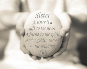 Sister Quote Sister Quote Print Sister by OceanDropPhotography, $19.00