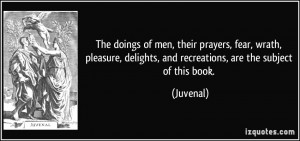 More Juvenal Quotes