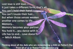 This quote says it all. If you have not yet read any of Mitch Albom ...