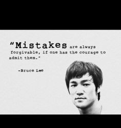 lee quote more mistakes life inspiration wisdom martial art bruce lee ...
