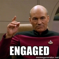 Captain Jean Luc Picard - engaged