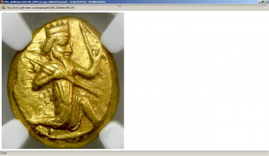 Gold Stater Ancient Gold Coin Update 5: Persia