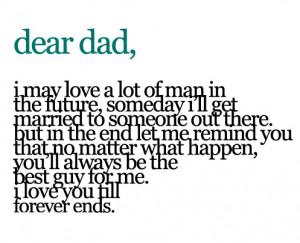 Dear Dad Quotes Tumblr Dear dad