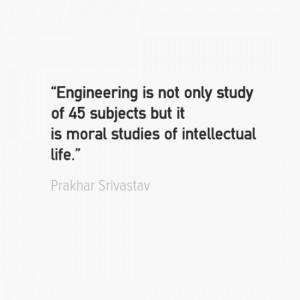Engineering Quotes - Prakhar Srivastav
