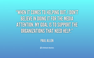 Quotes About Helping Out