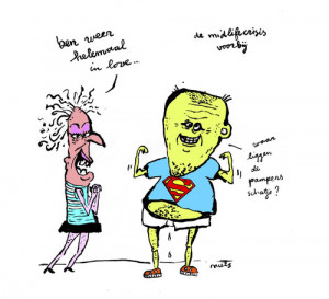 Cartoon: in love after the midlifecrisis (medium) by studionuts tagged ...
