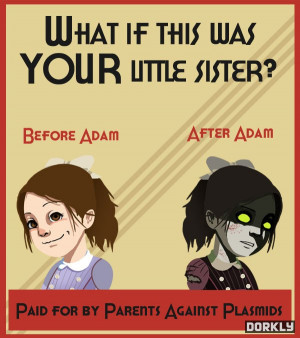 Bioshock Anti-Drug Posters