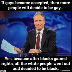Jon Stewart Gay Marriage