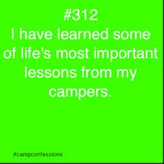 summer camp confessions tumblr More