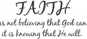 Characteristics of Extreme Faith