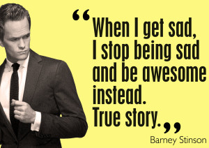 barney stinson quote. by ersandevelier
