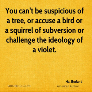 Hal Borland Nature Quotes