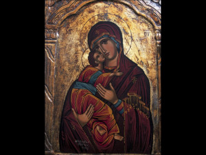 Religious Icon Meteora Greece