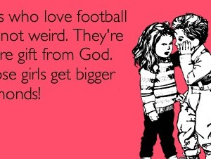 Girls Who Love Football Quotes