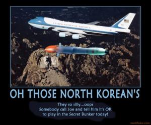 Those North Koreans...